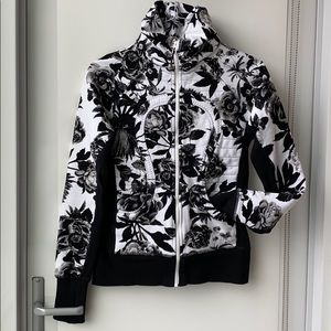 Lululemon Calm and Cozy Jacket Brisk Bloom